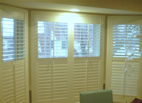 bay window shutters interior bay window shutters