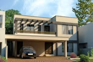 3d front elevation com dha lahore 1 kanal modern