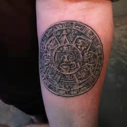 aztec calendar tattoo aztec sun calendar by christa ritchie at mule in