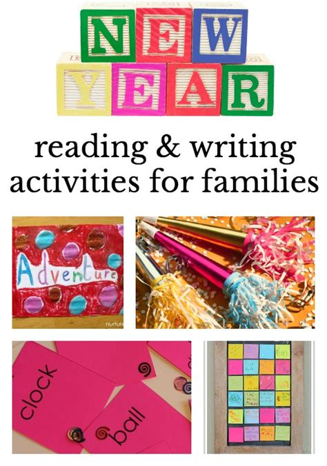 new year literacy activities new year s with ideas that promote reading and writing