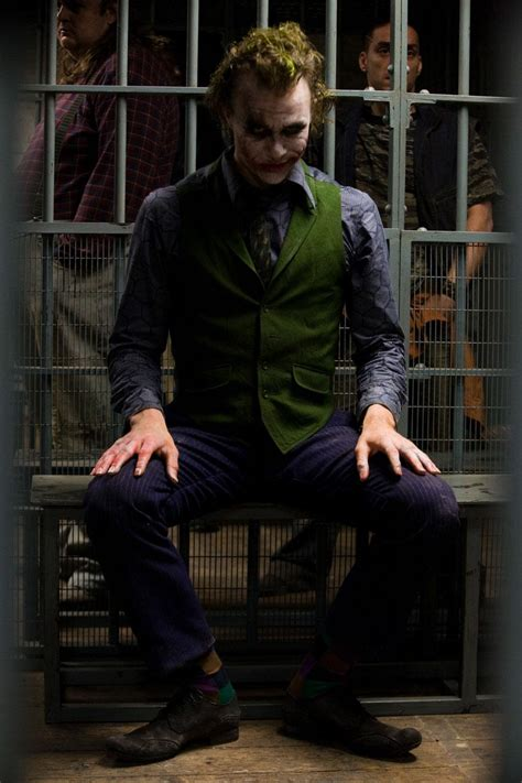 Heath Ledger As The Joker by Batman Submitted For Your Perusal