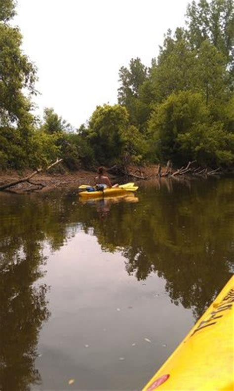 kayaking picture of mohican adventures cground