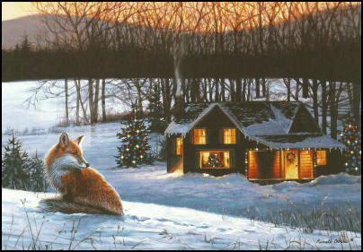 fox christmas cards red fox christmas cards fox cards fox note cards fox foxes