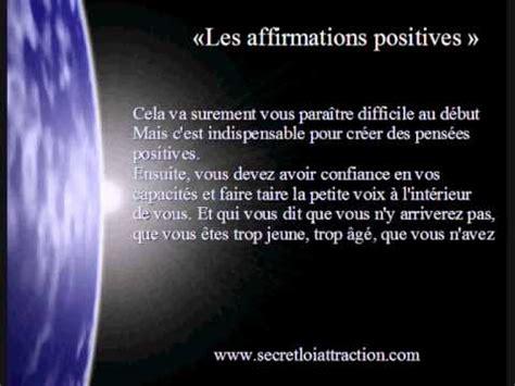 Comment Attirer Les Ondes Positives by Loi De L Attraction Le Secret De La Puissance Des
