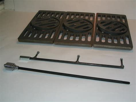 fireplace grates menards daka cast iron multi grate at menards 174
