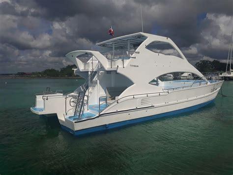 charter boats catalina island catamaran private charter saona island catalina wannaboats