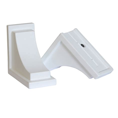 brackets for window boxes mp4828 4 quot w x 8 quot d x 7 quot h decorative nantucket window box