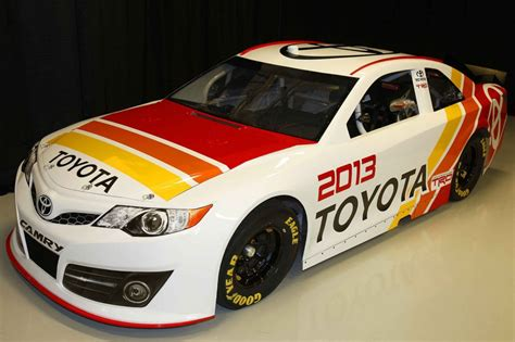 Race Car L by 2013 Toyota Camry Nascar Sprint Cup Race Car Debuts