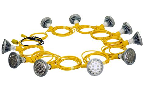 Led Construction Lights by 250 Watt Temporary Construction Led String Lights Released