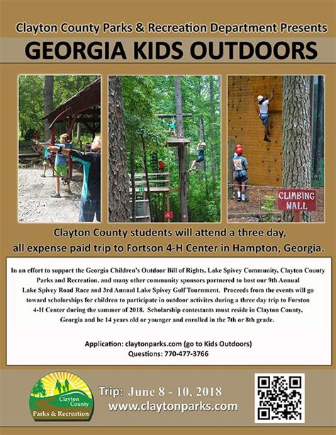 Clayton County Ga Property Records 2018 Outdoors Scholarship Clayton County Government