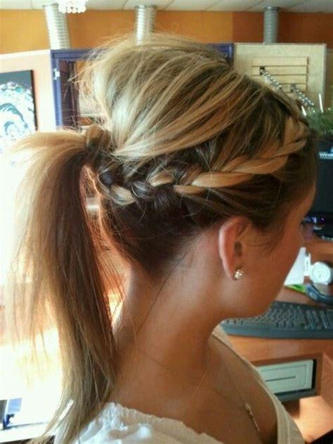 hair bumps from braids braid bump pony tail hair pinterest