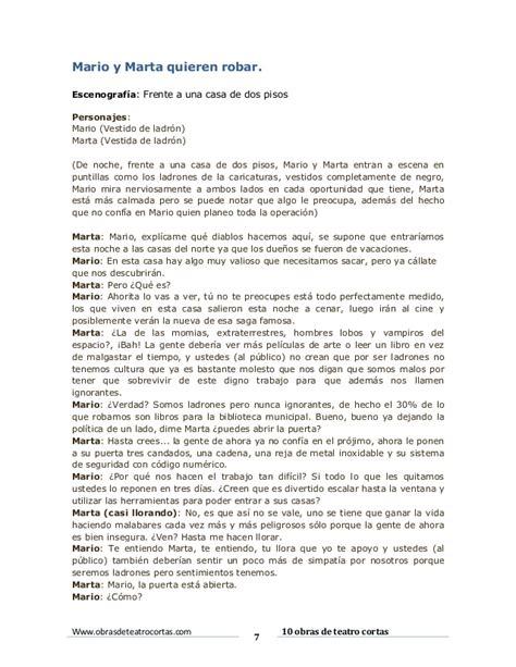 Obras De Teatro by 10 Obras De Teatro Cortas Alan Rejon