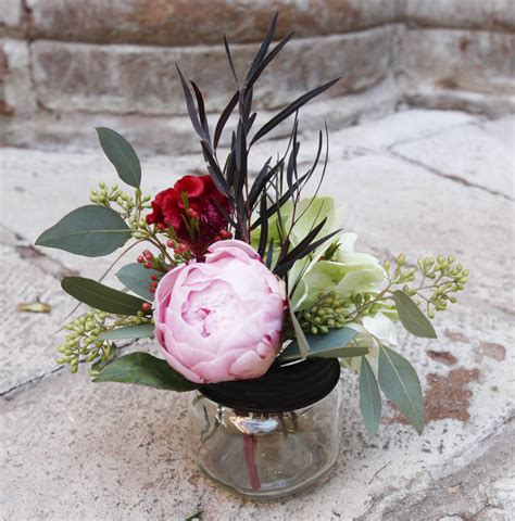 how to make your own peony centerpieces rustic wedding chic