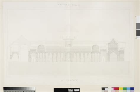 plans elevations sections and details of the alhambra jules goury plans elevations sections and details of