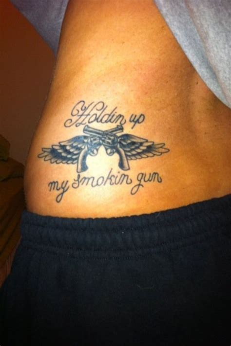 miranda lambert tattoo gonna add the guns and pink accents to my ankle