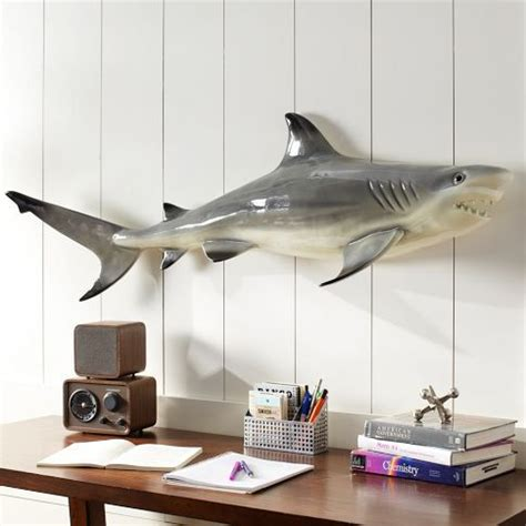 shark home decor shark wall decor home pinterest