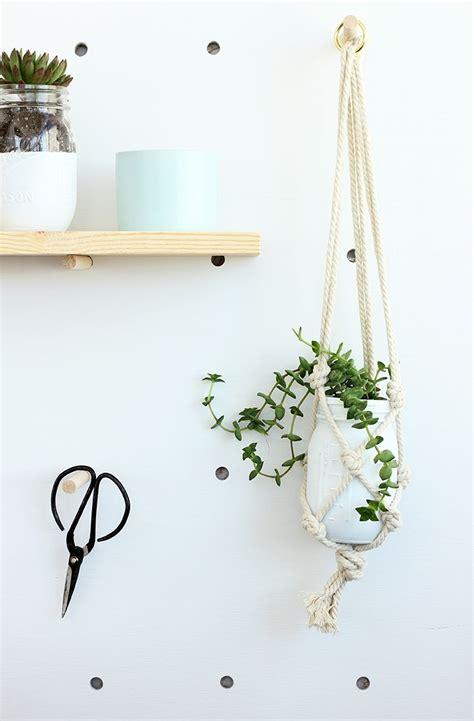 macrame easy diy easy macrame plant hanger crafty diy diy macrame