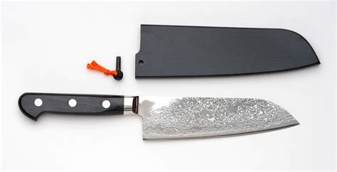 Essential Knives For The Kitchen by R2 Damascus Santoku Bocho Japanese Multipurpose Kitchen