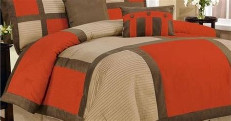 orange and brown bedding orange comforter sets images of orange brown bedding set