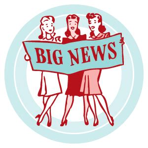 Time To Announce The Big News by Vintage Goodness 1 0 Big News Vintage Goodness 2 0 Is