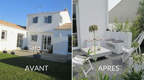 Amenagement Terrasse Maison by Avant Apr 232 S Moderniser L Espace Ext 233 Rieur D Une Maison
