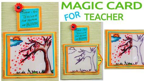 the card 7 steps to an educator s creative breakthrough books magic card for diy card card