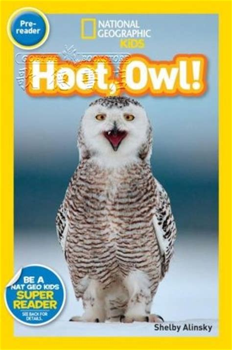 national geographic kids readers 1426326815 national geographic kids national geographic readers hoot owl 全新正版產品 歌德英文書店