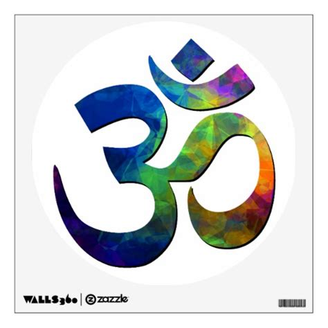 Home Decor Manufacturers by Colorful Om Yoga Symbols Room Decals Zazzle