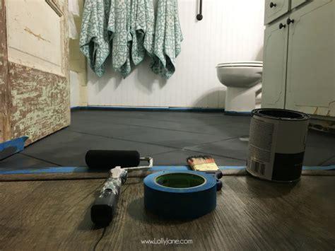 making love on the bathroom floor hate your tile floors paint them lolly jane