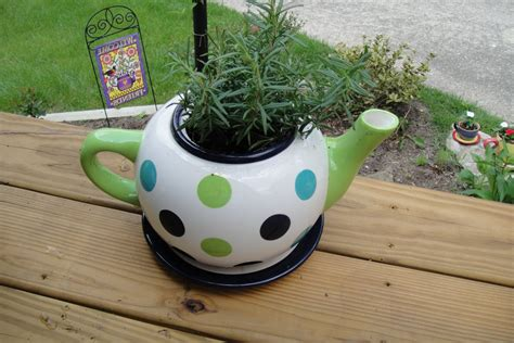 Teapot Planters by Friendship Tea Teapot Planters