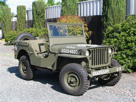 ford jeep classic military automotive 187 1943 ford gpw jeep 20 500