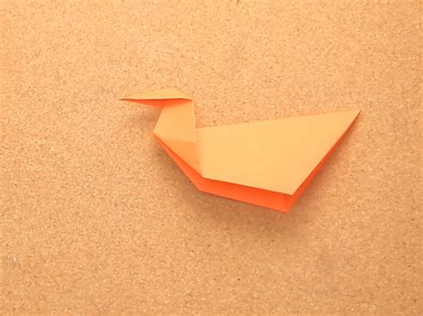 How To Fold A Paper Duck - how to fold an origami duck 11 steps with pictures