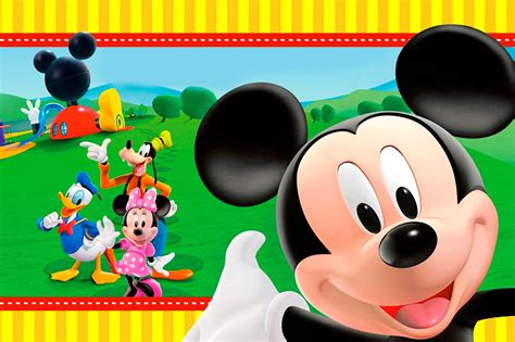 free mickey mouse invitations plus mickey mouse birthday