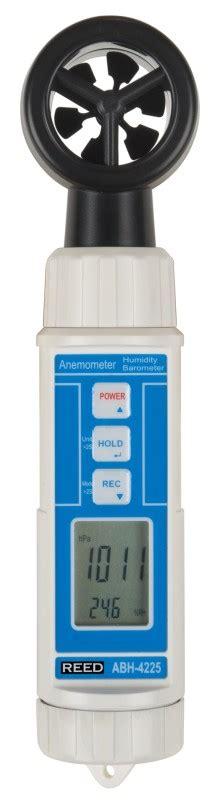 Abh 4225 4 In 1 Meter Anemometer Barometer Humidity Temp Meter reed abh 4225 compact anemometer thermometer barometer