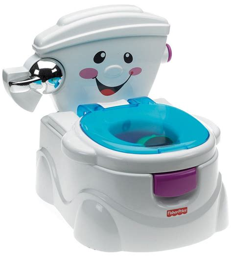 Trainer Pispot Toilet Trainer fisher price my talking potty friend musical learning