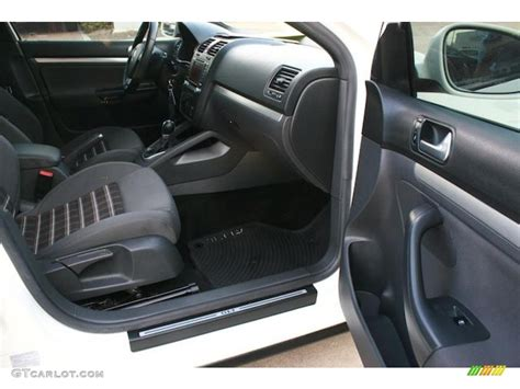 Jetta 2007 Interior by Interlagos Plaid Cloth Interior 2007 Volkswagen Jetta Gli