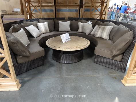 patio sectional sofa set outdoor sectional costco images