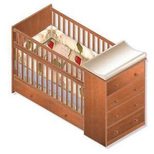 nursery convertible crib full bed woodworking plans ebay
