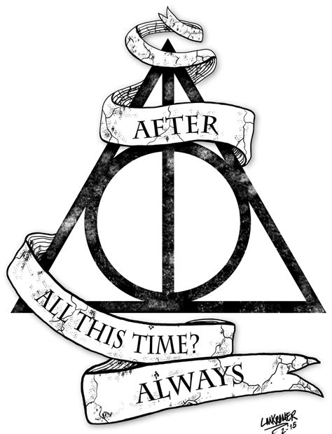 harry potter designs harry potter deathly hallows design by misformac on