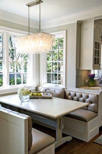 kitchen booth ideas a study in white 55 white rooms done right kitchen