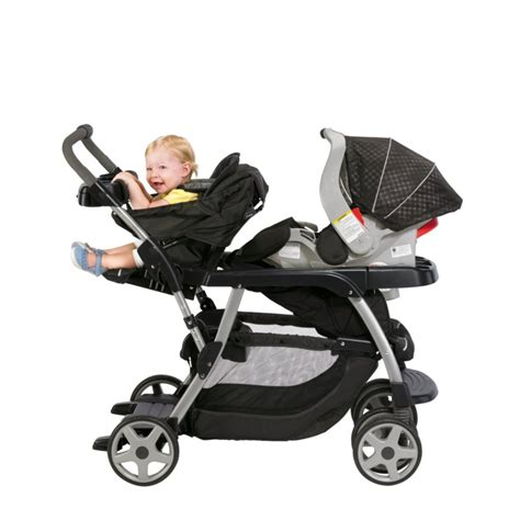 stroller with toddler seat graco ready2grow stroller baby toddler stand and
