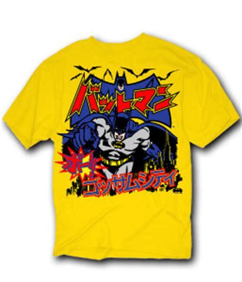 Tshirt Kaos Batman Logo Japan batman japanese logo t shirt size