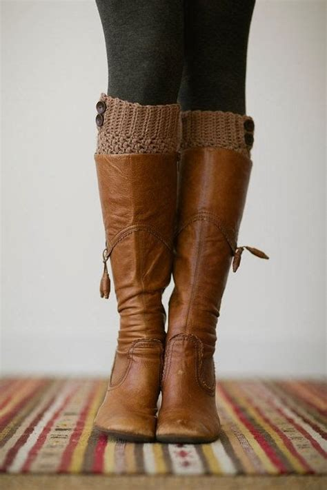 brown leather fall boots fashion