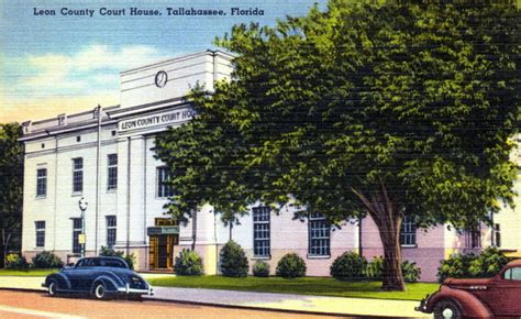 leon county court house florida memory leon county court house tallahassee florida