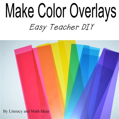 literacy math ideas create color overlays