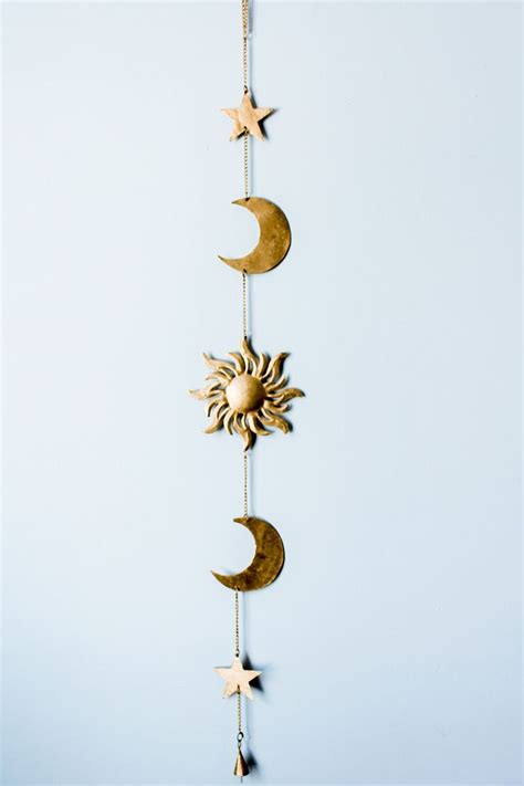 Hanging Moon Decoration by 25 Best Ideas About Sun Moon On Sun Moon