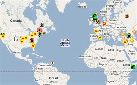 global incident map global incident map where are the terrorists neatorama