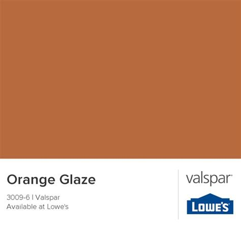 orange glaze from valspar home sweet home accent walls orange accent walls and