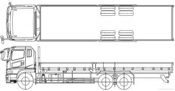 Mitsubishi Fuso Dimensions The Blueprints Blueprints Gt Trucks Gt Mitsubishi Fuso