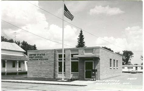 Marinette Post Office by Post Office Photo Collection Post Collectors Club